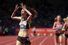 Jessica judd wins the 800 metres in the IAAF Diamond League, Birmingham.