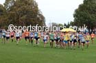 Start of the senior mens Northern Cross Country Relays. Photo: David T. Hewitson/Sports for All Pics