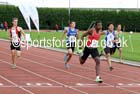 Under-15 boys 100 metres, Northern Under-15 and under-17 Championships, Wigan. Photo: David T. Hewitson/Sports for All Pics
