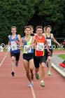 Under-17 mens 800 metres, Northern Under-15 and under-17 Championships, Wigan. Photo: David T. Hewitson/Sports for All Pics
