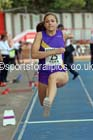 Inter girls triple jump, 2015 English Schools, Gateshead. Photo: David T. Hewitson/Sports for All Pics