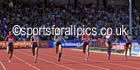 Womens 200 metres, IAAF Diamond League, Birmingham. Photo: David T. Hewitson/Sports for All Pics