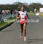 Geremew Tadele (Elswick Harriers) wins the North Tyneside 10k Road Race. Photo: David T. Hewitson/Sports for All Pics