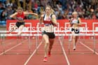 Womens 400 metres hurdles, British Championships, Birmingham. Photo: David T. Hewitson/Sports for All Pics
