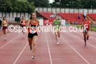 Senior girls 400 metres, English Schools Track and Field. Photo: David T. Hewitson/Sports for All Pics