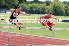 Mens under-17s 100 metres hurdles, Northern Under-13s, U-15s and 17s Championships. Photo: David T. Hewitson/Sports for All Pics