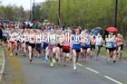 Senior womens relay, Elswick Good Friday Road Races. Photo: David T. Hewitson/Sports for All Pics
